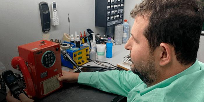 Venda e Conserto de Equipamentos de Telecomunicações