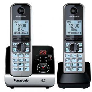 Telefone sem fio KX-TG6722LBB